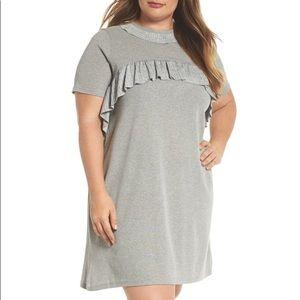 NWT Ruffle T Shirt Dress
